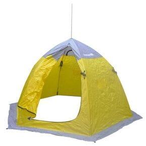 Палатка зимняя шестигранная Fishing ROI yellow-grey