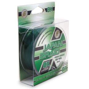 Шнур Lineaeffe FF Japan Braid 8X 135m 0.25mm/18.00kg зеленый
