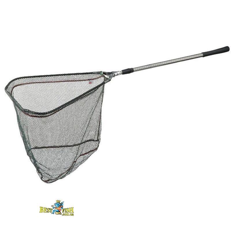 Подсака раскладная DAM с прорезиненной сеткой 2.00м голова 50см х 50см