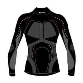 Термофутболка  Accapi X-Country Long Sleeve Shirt High Neck Man 999 black