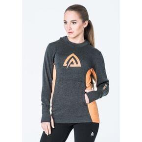 Худи  Aclima WarmWool Hood Sweater Woman Marengo/MuskMelon