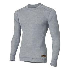 Огнестойкая термофутболка Aclima Work X-Safe Shirt Crew Neck GreyMelange