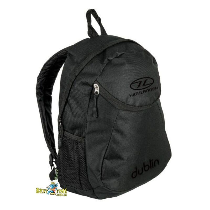 Рюкзак городской Highlander Dublin 15 Black