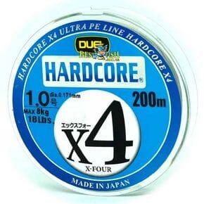 Плетеный шнур Duel Hardcore X4 Multicolor #1/200