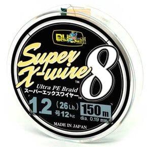 Плетеный шнур Duel Super X-Wire 8 Silver #1.2/150