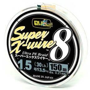 Плетеный шнур Duel Super X-Wire 8 Silver #1.5/150