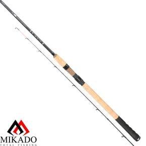 Фидер Mikado Black Stone Commercial Method Feeder 3.30м 75гр